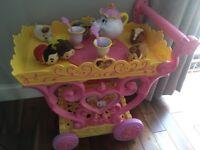 Beauty and the Beast Tea Trolley