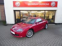 MG TF LE 500, JULY 2009, ONLY 20,250 MILES, SCORCHED RED