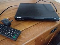 SONY dvd player, only used on a holiday