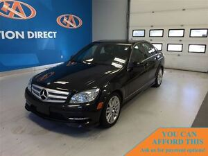 2011 Mercedes-Benz C-Class C250 SPORTY! LEATHER! SUNROOF!