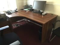 Left Hand Ergonomic Desk - DAMS