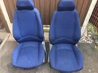 Fiat punto front seats