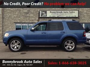 2009 Ford Explorer Limited AWD 7 PASSENGER W/LEATHER P/SUNROOF