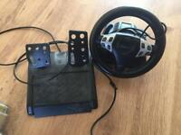 Argos PS3 comparable steering wheel & pedals