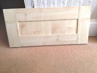 Kitchen Unit - Maple shaker style - Bridging Cabinet Door 600mm - New boxed - New kitchen