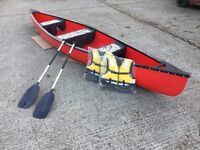 Canadian canoe shop display 4 left