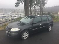 RENAULT MEGANE ESTATE 2007 57, 1.5 DYNAMIC DIESEL , S/HISTORY, METALLIC BLACK