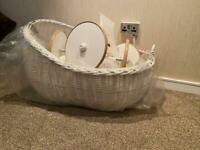 Baby's moses basket