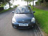 Private Sale! 2004 Toyota Yaris Blue 5dr 1.0 Petrol FSH, just serviced