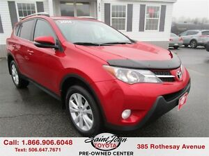 2014 Toyota RAV4 Limited $212.05 BI WEEKLY!!!!