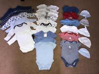 50 Piece 0-3 Month Baby Bundle