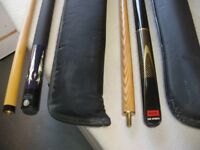 SNOOKER CUE at haven Housing Trust's charity shop