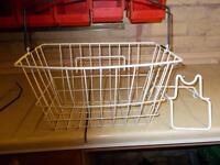 Cycle shopping basket.