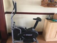 Cross trainer hardly used, 1.5yrs old.