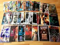57 horror comics lot cthulhu, interview with a vampire, i am legend, walking dead ,black hole