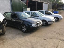 Volkswagen Golf GTI & GOLF SE all parts for sale car breakers scrapyard