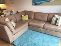 Corner sofa including sofa bed