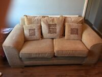 Two 2 seater settees