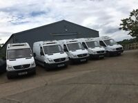 MERCEDES SPRINTER 313 MWB HIGH ROOF FRIDGE VAN.2012.ONE OWNER.CHOICE OF 7 VANS