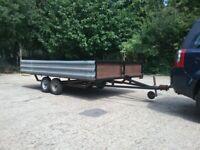 Large multi-purpose car trailer
