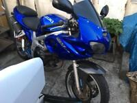 2001 Suzuki sv650s spares or repair swap part ex