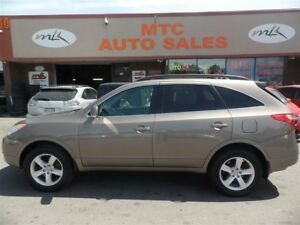 2011 Hyundai Veracruz GLS, LEATHER, 7 PASSENGER, SUNROOF