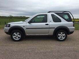 Land Rover, Freelander. 12 months Mot, battery, glow plugs, diff mounts and drive shaft bearings.