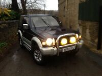 Mitsubishi pajero 2.8td automatic drives fantastic stunning condition warrior, shogun, rav4