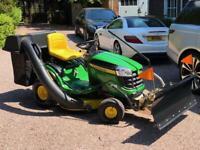 """John Deere X145 Ride on mower - 42"""" deck - lawnmower - Ride on mower / Kubota / Toro"""