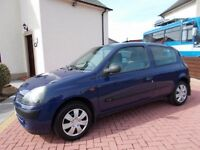 * * * CARS * ** BARGAIN !, Renault Clio 1.2, LONG MOT ! / CHEAP AS CHIPS ! (not Corsa fiesta )