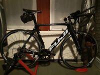 Fuji transonic 2.7 2016 road bike with extras