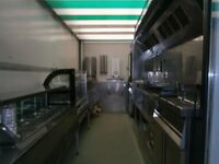 Catering trailer - tri axle 20 footer