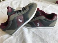 *** Bargain *** Ralph Lauren Boys Trainers Shoes Year 10 - 11 RRP £70