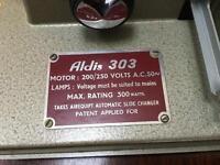 Aldis slide projector