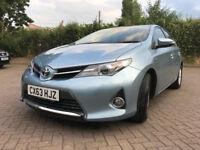2013 63 Toyota Auris 1.8 VVT-i Icon e-CVT HSD === HYBRID £0 ROAD TAX=====