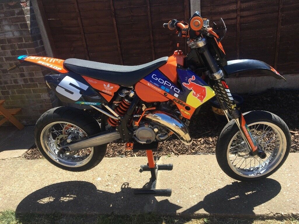 ktm exc 125 supermoto road reg in norwich norfolk gumtree. Black Bedroom Furniture Sets. Home Design Ideas