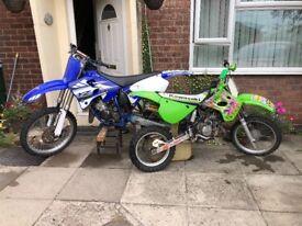 Yamaha yz 125 2001 + kx 85 97/98