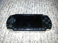 sony psp black two games