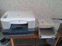 Three HP printers