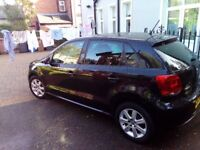Volks Wagon polo, Black, Alloy wheels, excellent condition, good spec, 2nd owner, full service recor