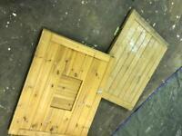 Barn stable door divided door