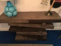 """Ex Display -Designer by Andrew Martin the """"Rocky"""" Console Table rrp £1799"""
