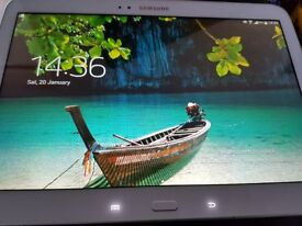 """samung galaxy tab 3.......10.1"""". wifi and cellular. 4g. immaculate condition."""