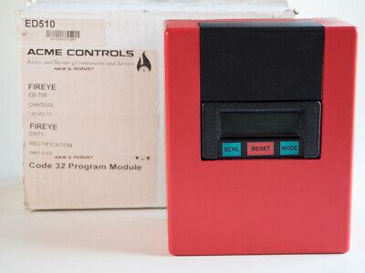 Fireye Flame Monitor Eb-700 Ep380 Ert1 Ed510 120v