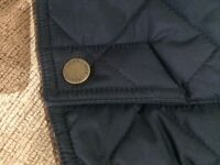Boys Ralph Lauren quilted black coat, 14-16 years