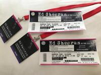 2 ED SHEERAN SEATED VIP TICKETS FOR SALE!