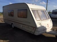 Sterling Eccles 2001 model 4 berth full size awning+ motor mover