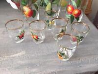 Vintage set of glasses