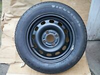 Firestone Tyre on wheel £22 ovno, 185 65 R14 86T Never Been Used, absolutely excellent condition