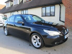 BMW 5 SERIES AUTOMATIC 90,000 MILES BLACK Part exchange available / Credit & Debit cards accepted